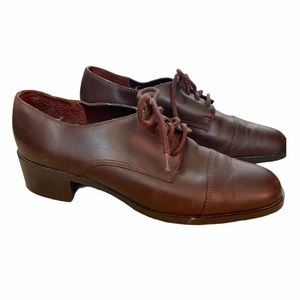 Spectaa brown lace up shoe Oxford size 6M VGUC